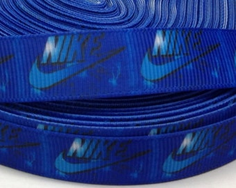 "4 Yards of 5/8"" Nike Grosgrain Ribbon"