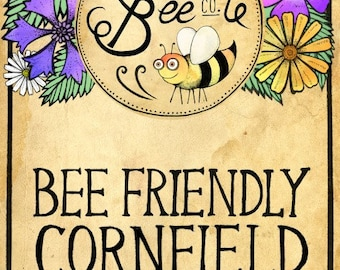 Bee Friendly Cornfield Annual Seed Mix