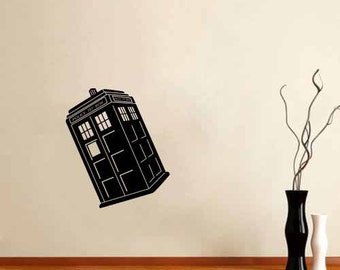 Tardis - Dr Doctor - Wall Decal Vinyl Room Police The Box