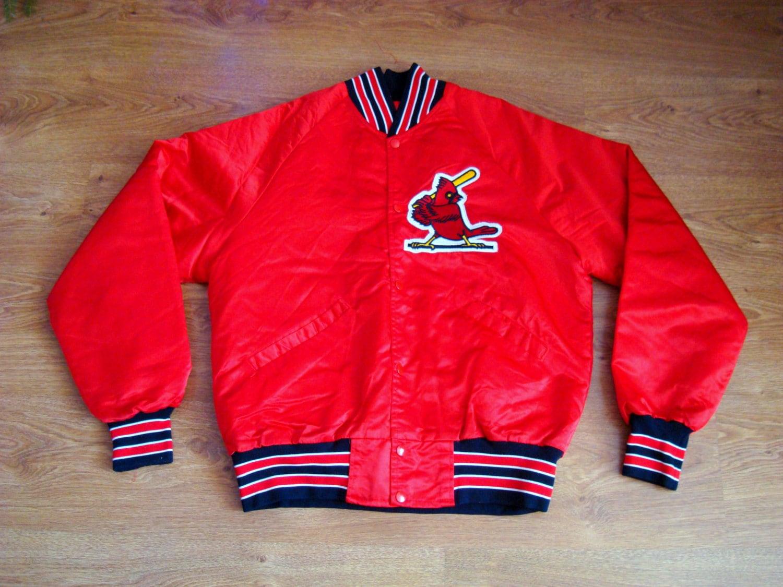 Vintage 80s St. Louis Cardinals Starter Jacket Nylon sport