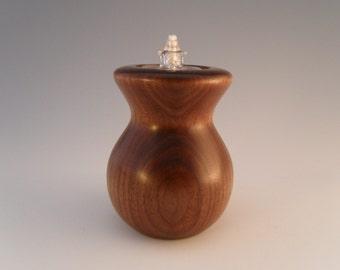 Popular items for wooden oil lamp on etsy for Wooden kerosene lamp holder