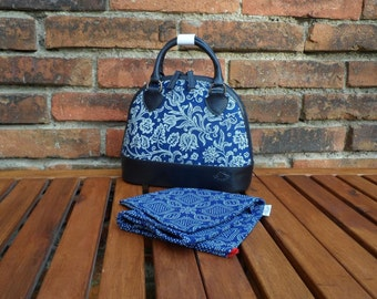 Dilians HANDPRINTED leather handbag JITKA2 F050601