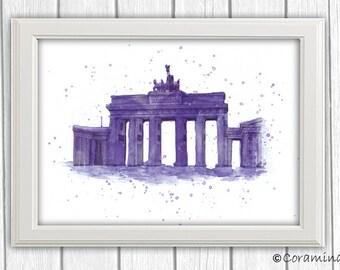 "Artprint ""Brandenburger Tor"" limited edition"