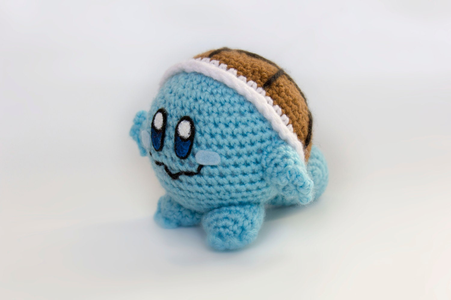 Crochet Patterns Amigurumi Monkey : Crochet Squirtle Kirby Amigurumi Made to Order