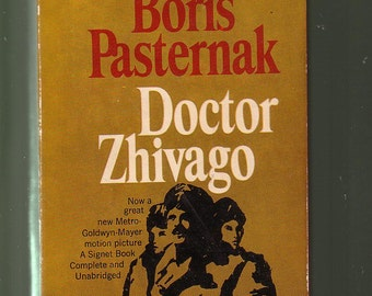 Doctor Zhivago by Boris Pasternak  1958 Paperback In Good Used Condition*.