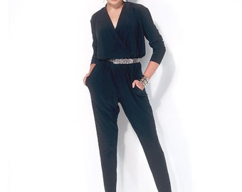 McCall's Sewing Pattern M7099 Misses' Blouson-Bodice Romper and Jumpsuit