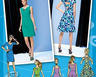 Simplicity Sewing Pattern 1651 Misses' Dress Project Runway Collection