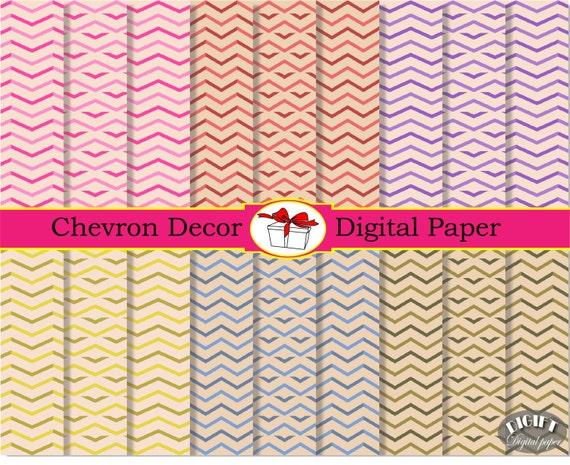 Chevron Digital Paper Old Chevron Decor Chevron clipart vintage print Red Chevron digital background baby pink Chevron digital papers party