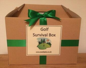 Humorous Golf Survival Box