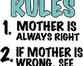 House Rules Funny Adult T-Shirt
