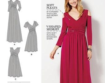 Simplicity Pattern 1102 Misses & Plus Size Amazing Fit Dress in Knit