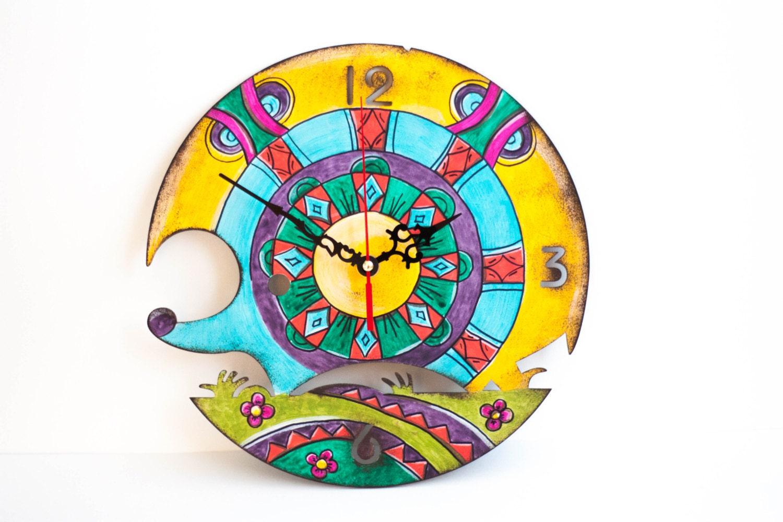 Kids Wall Clock Gift For Kids Kids Room Decor Rainbow