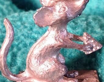 Mini mouse pewter