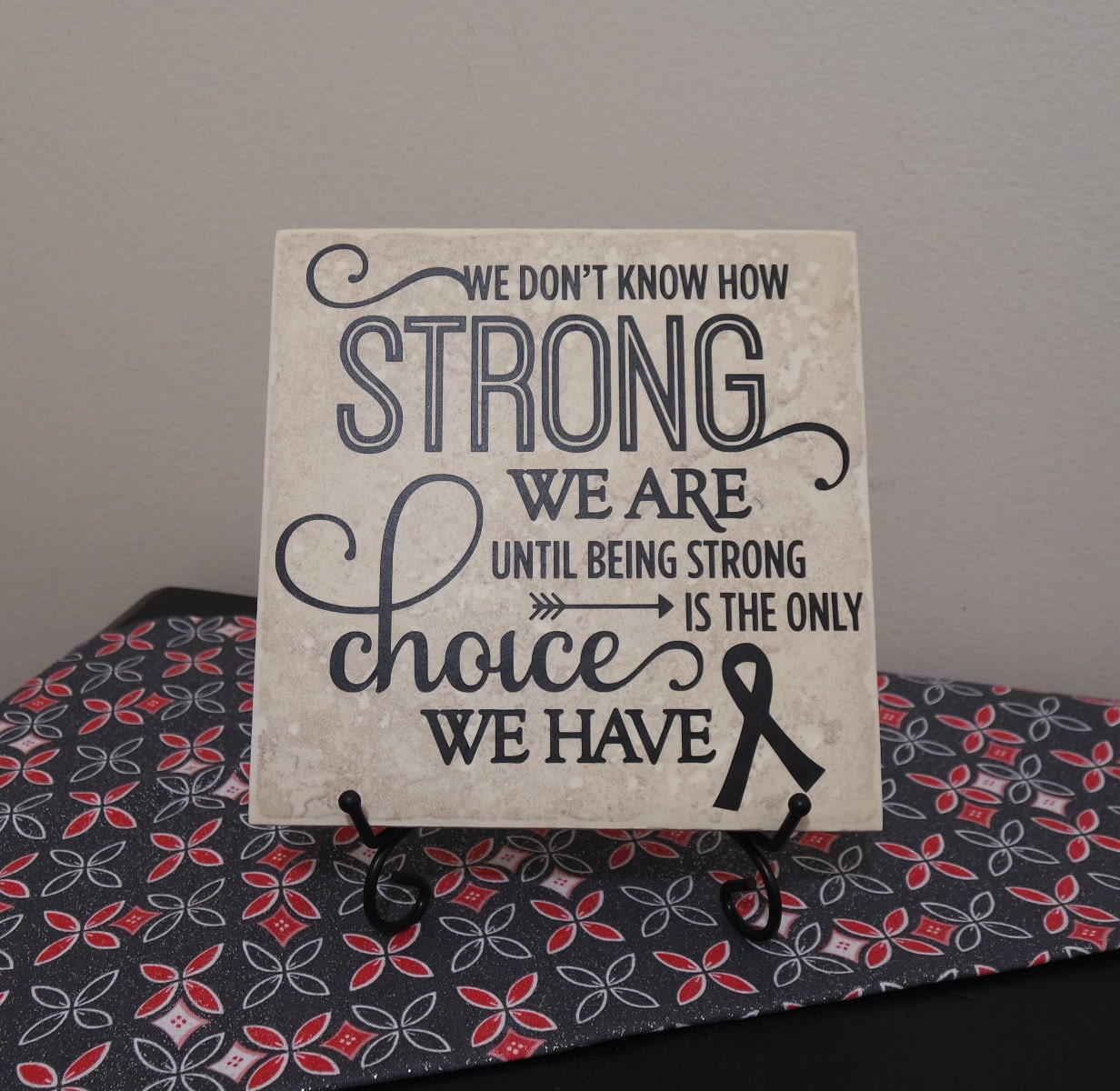 Wall decals kitchen backsplash - We Don T Know How Strong We Are Until Being Strong Is The Only Choice