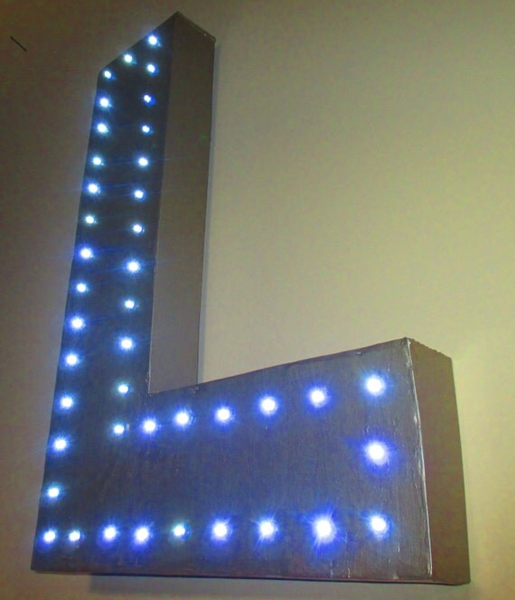 18 inch modern marquee light up letter lamp with by With 18 inch marquee letters