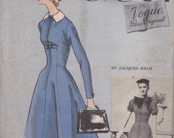Vogue Couturier Design 1325 One Piece Dress Size 12 30 Bust 33 Hip