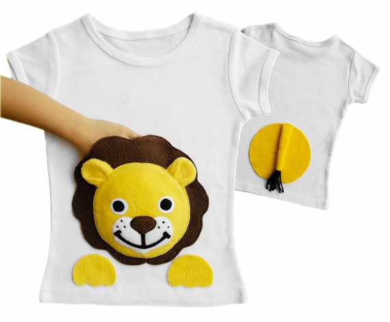 kids clothes lion shirt boy toddler girl toddler by