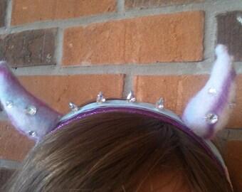 Pastel Goth Devil Horns