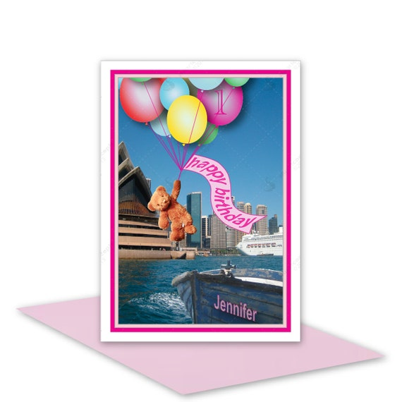Girl Happy Birthday Card For Girl Age 1st 2nd By