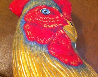 Vintage Stuffed Rooster