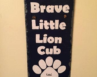 Brave Little Lion Cub