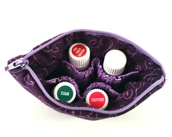 Custom Extra Small Essential Oil Pouch