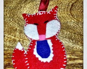 Felted friend little mr fox