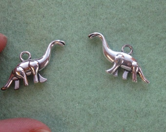 15 dinosaur charm tibetan silver antique tone jewelry making wholesale