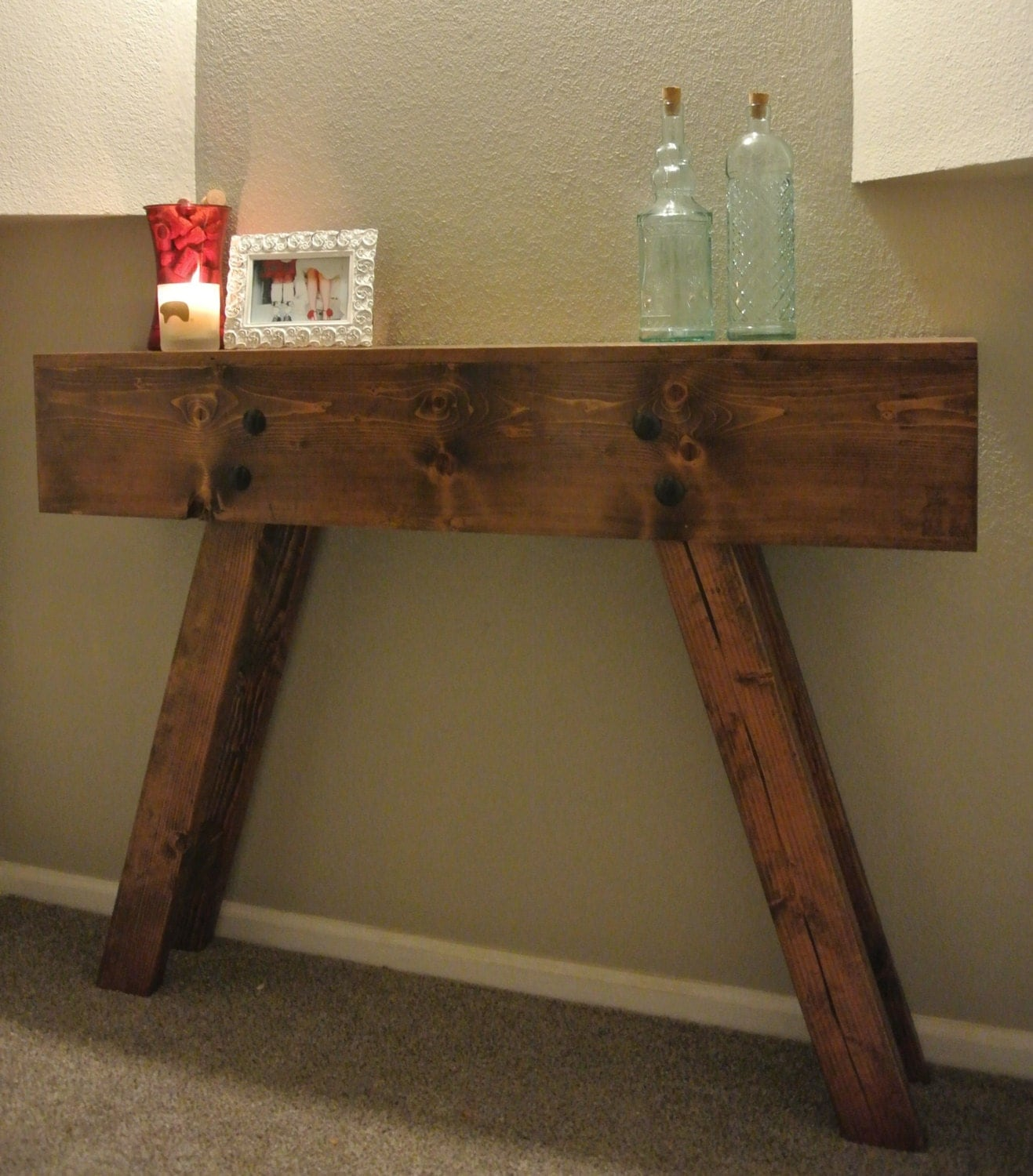 Foyer Table Name : Request a custom order and have something made just for you