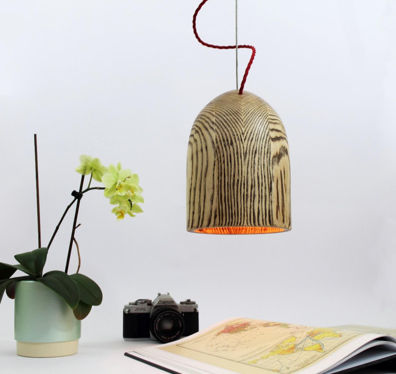 Wooden Pendant Lamp. Wood Lamp Shade