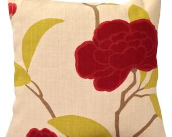 Romo Rubani Soft Red Cushion Cover
