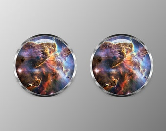 Nebula Cuff Links, Nebula Cufflinks, Space Cuff Links C0081