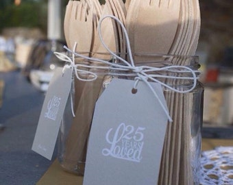 25 TAGS WEDDING