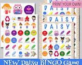 Daisy BINGO Game - Print Your Own!
