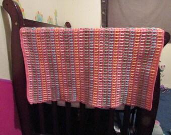 Large Crotchet Baby Blanket