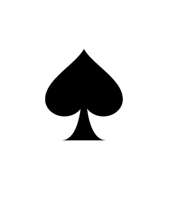 Spade Symbol Deck of Cards
