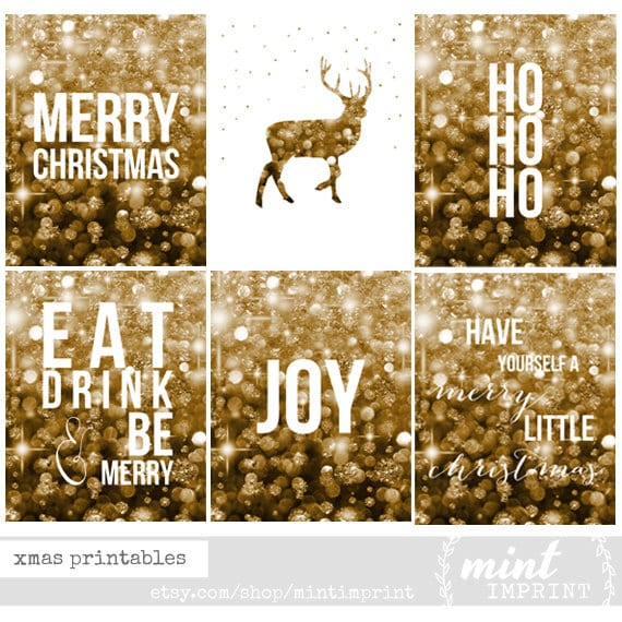 Have yourself a merry little christmas wall art christmas have yourself a merry little christmas wall art christmas printable decor silver glitter solutioingenieria Choice Image