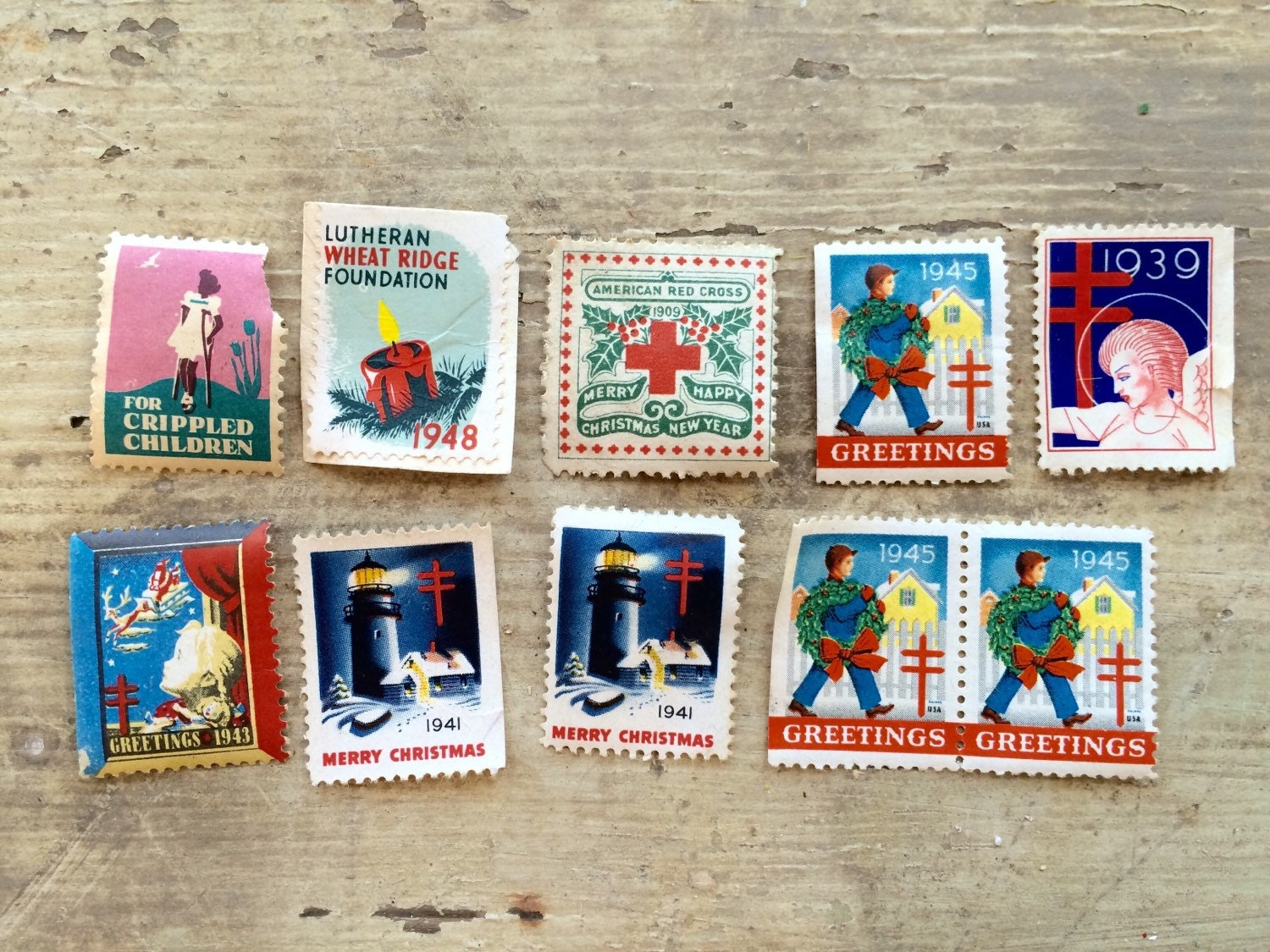 Collection Of Stamps Postal Lot Instant Scrapbooking Supplies From SistersGardenIowa On Etsy Studio