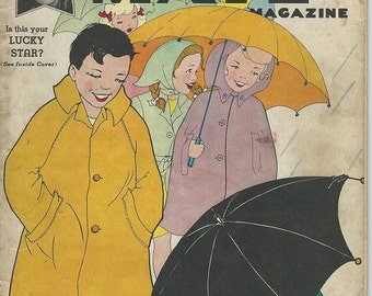 childrens playmate magazine pages1940s basketball cover, umbrella cover easter crafts dream game contest downloads