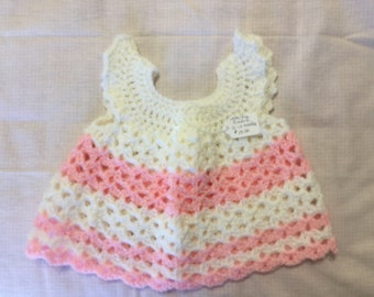 Crochet Baby Girls Pinafore