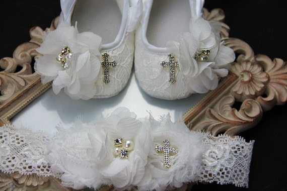 Christening Shoes girl Baptism shoesbaptism shoes by