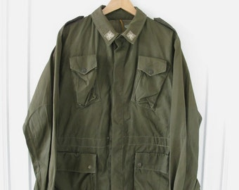 Vintage Men's Italian Military Jacket - Size L