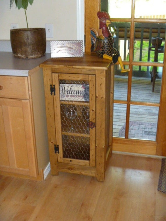 Rustic Pallet bookcase cabinet rustic kitchen cabinet