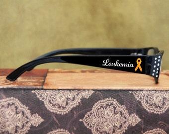 Leukemia Awareness Reading Glasses