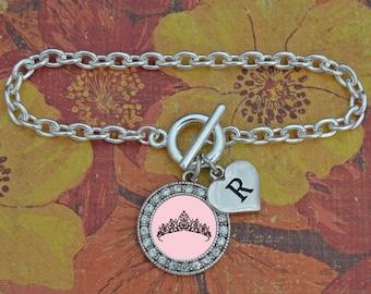 Custom Initial Pageant Bracelet