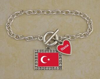 Custom Family Turkey Bracelet - FLAGTR54591