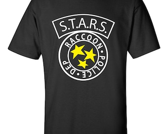 S.T.A.R.S RACCOON City Police Resident Evil T-Shirt