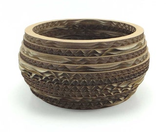 Decorative Cardboard Bowl