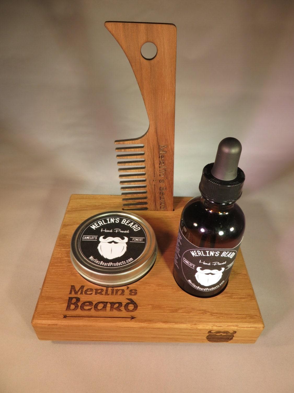 merlin 39 s beard complete beard care kit by merlinsbeardproducts. Black Bedroom Furniture Sets. Home Design Ideas