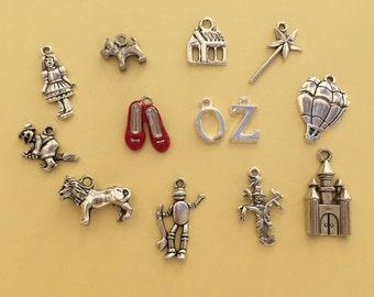 The Wizard of Oz Charm Collection Antique Silver - CC016